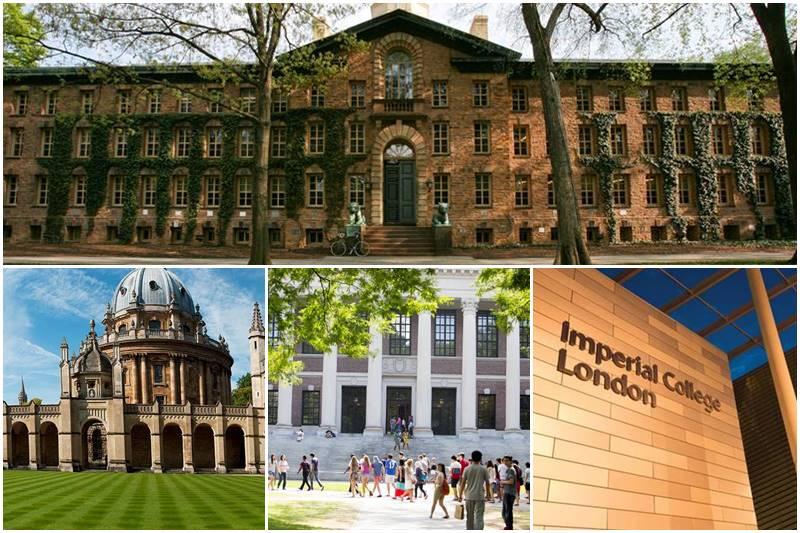 Dünyanın En İyi Üniversiteleri ve Ücretleri